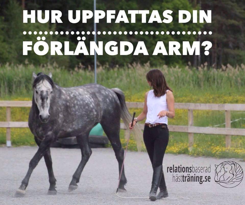 Hur uppfattas din förlängda arm?
