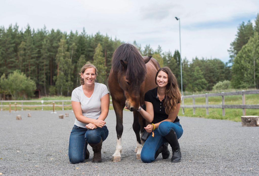 klickertränare Joanna & Anne